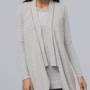 WHBM Swit Coverup Gray Velvet size XL